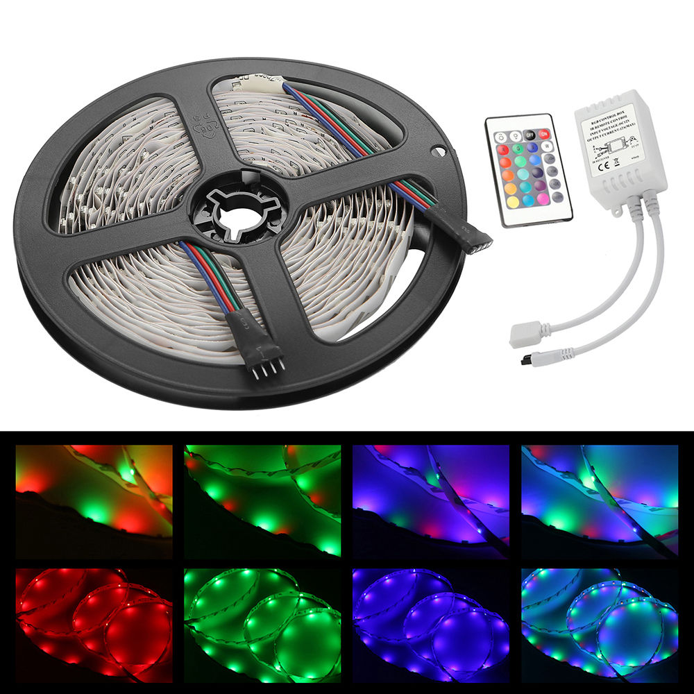 COLOUR CHANGING LED MOOD IDEAS LIGHT & TV BACK KIT 3528 ...