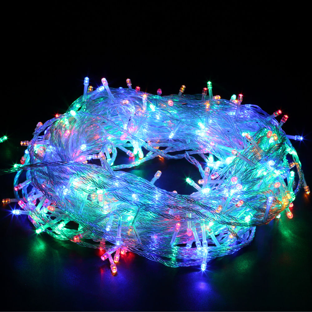 Led Outdoor Party String Lights: 30M/100M/200M Fairy LED Decorative String Light Outdoor