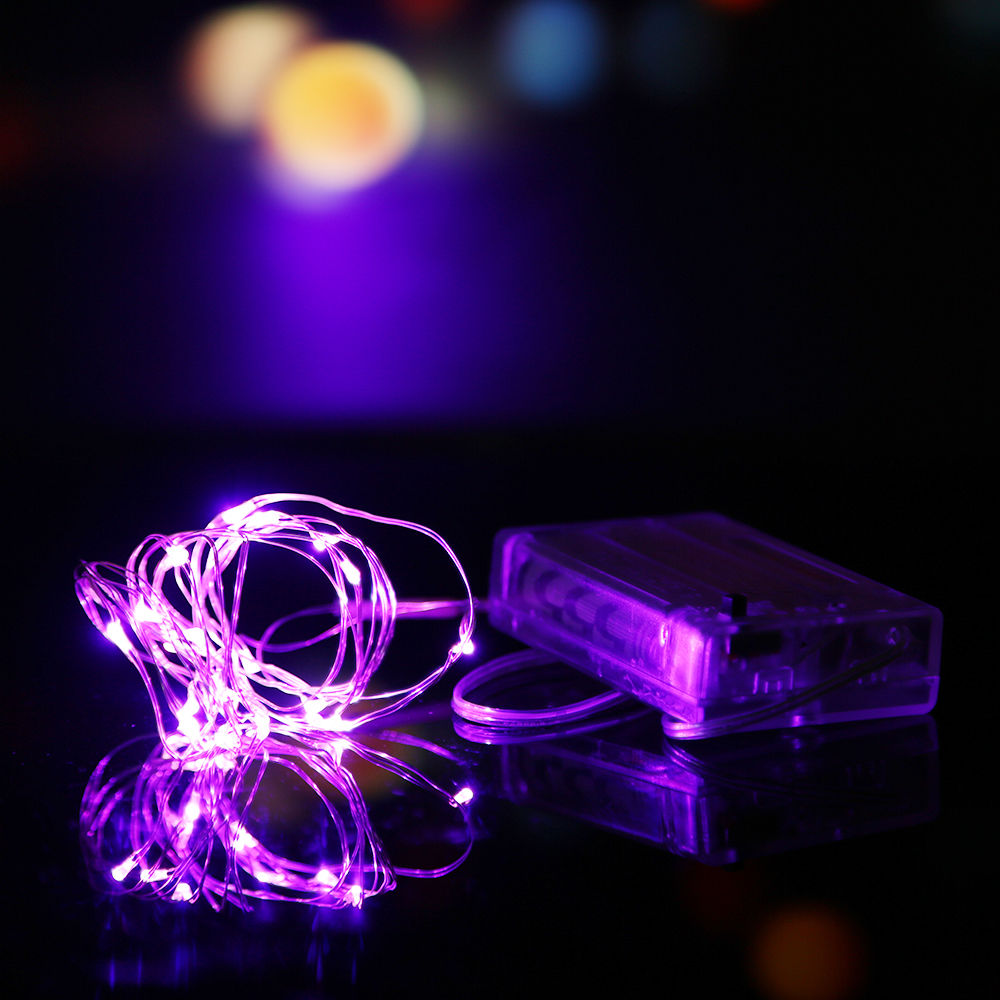 2M/3M/10M Battery Powered LED Starry Fairy String Lights Xmas Valentine Party eBay