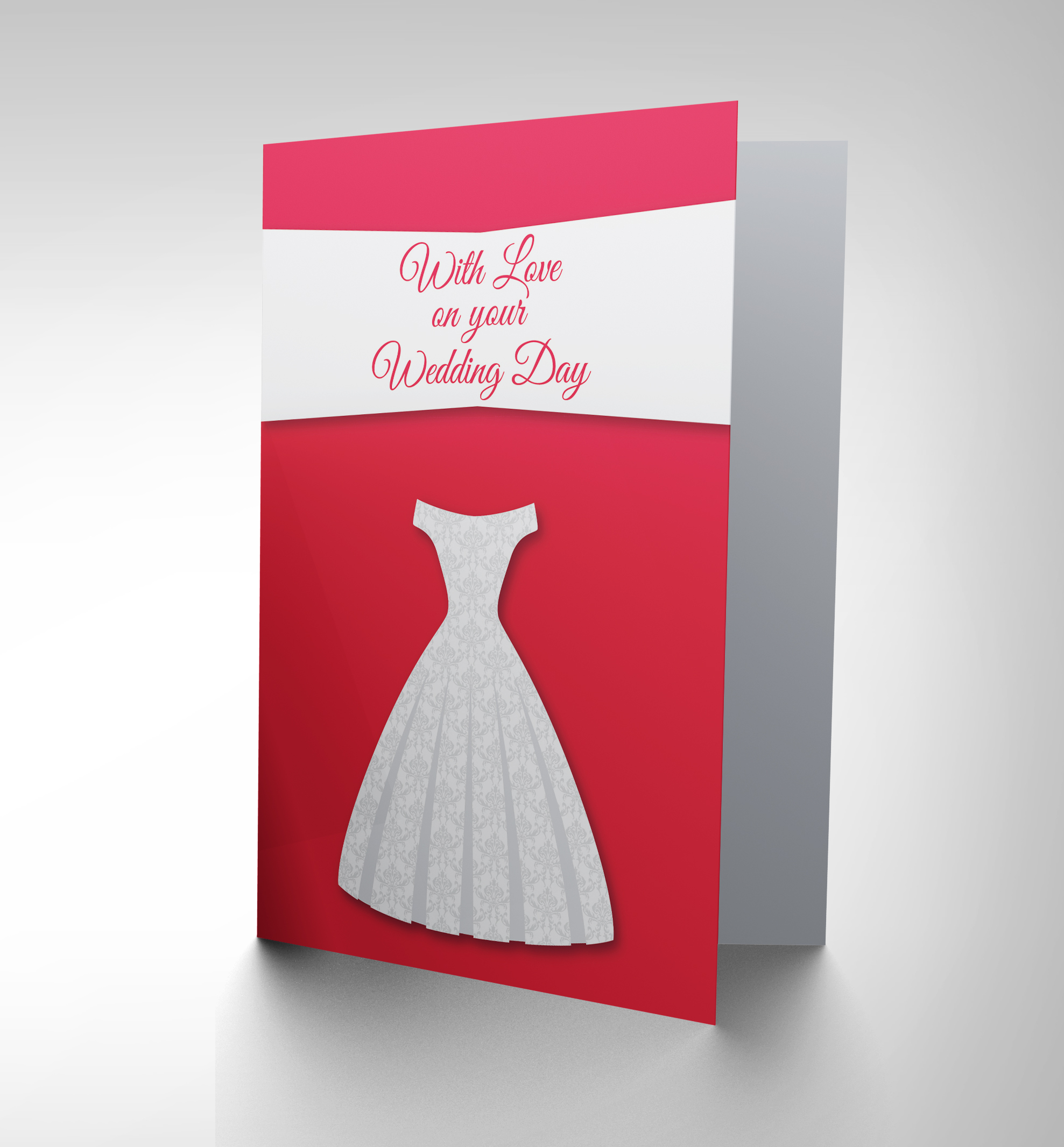 Wedding Gift Card Australia : WEDDING MARRIAGE LOVE DRESS NEW ART GREETINGS GIFT CARD CP1973 eBay