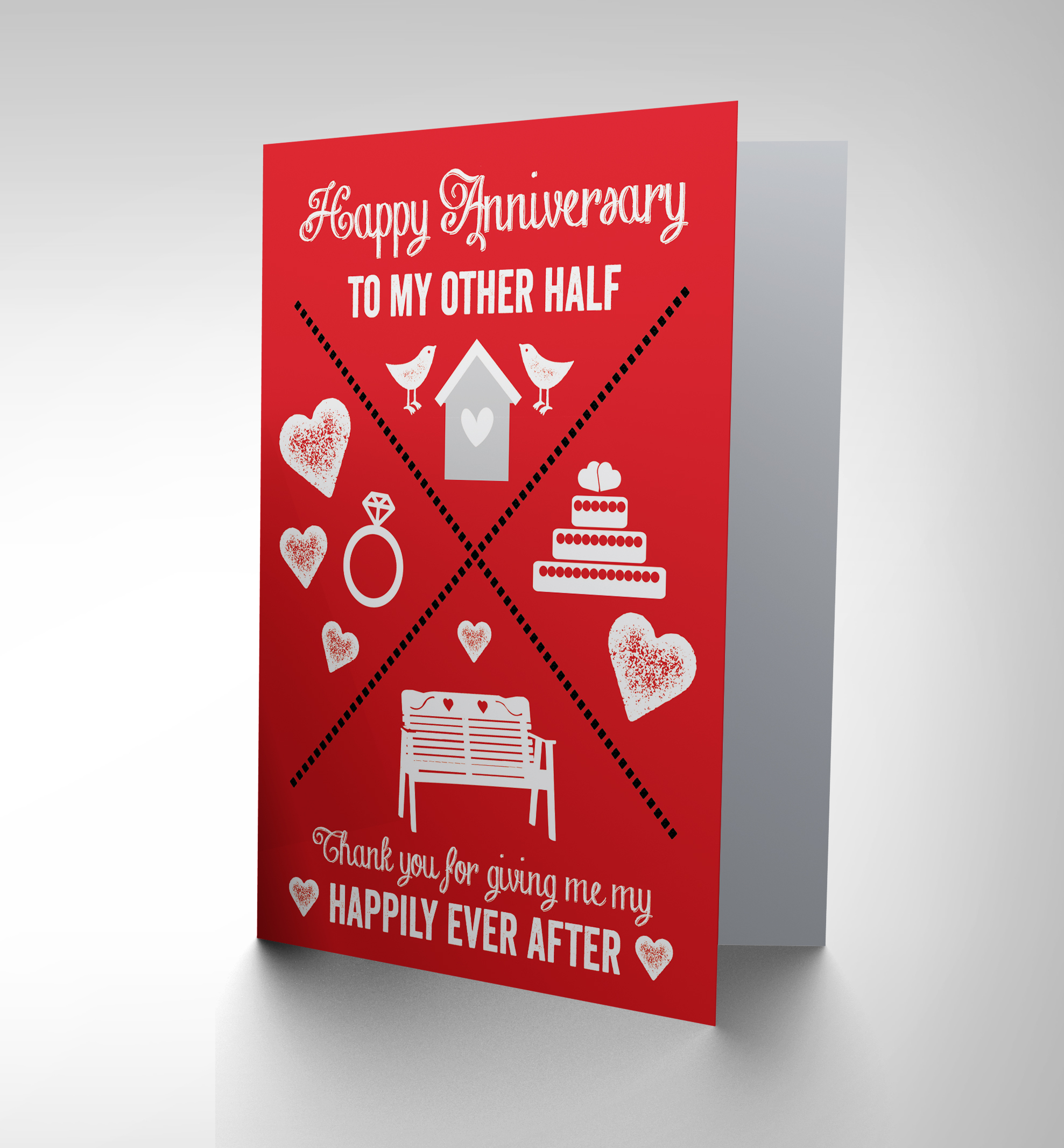Wedding Gift Card Australia : CARD GREETING ANNIVERSARY HAPPY HAPPILY EVER AFTER WEDDING GIFT CP2741 ...