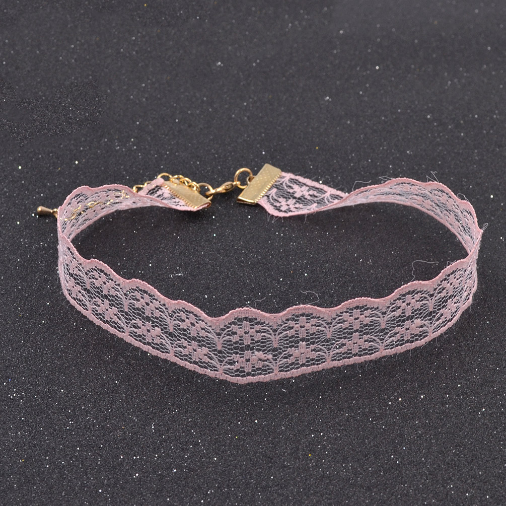 Vintage Lace Choker Necklace Collar Chain Necklace Jewellery Fashion Retro New