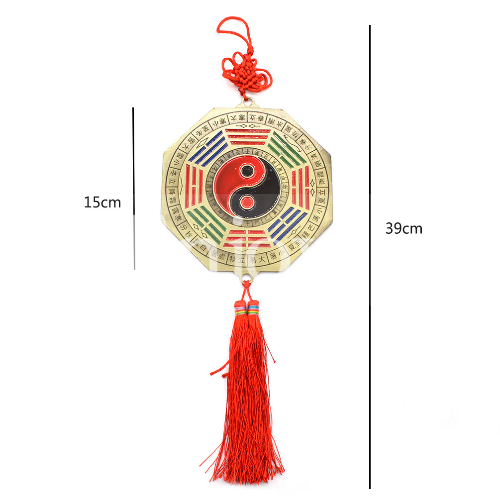 Chinese feng shui chinese knot bagua mirror home car for Chinese house feng shui