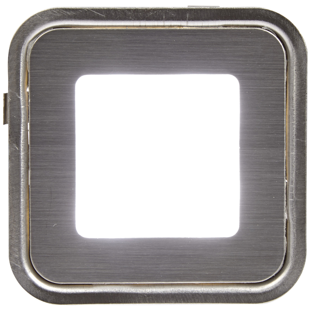 Led Bathroom Plinth Lights biard 6 x square led garden kitchen bathroom plinth light kit 58mm