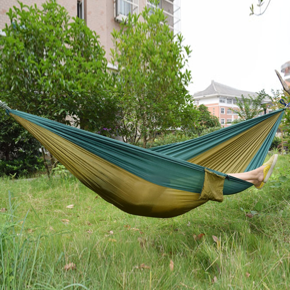 Parachute Nylon Fabric Hammock For Two Person Lover Family