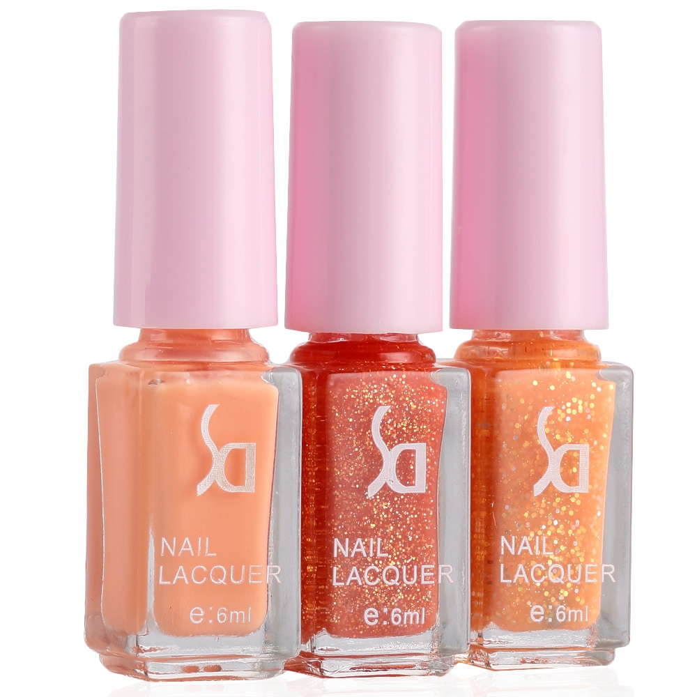 Fashion Magic Candy 3 Colors Gradient Nontoxic Gel Nail