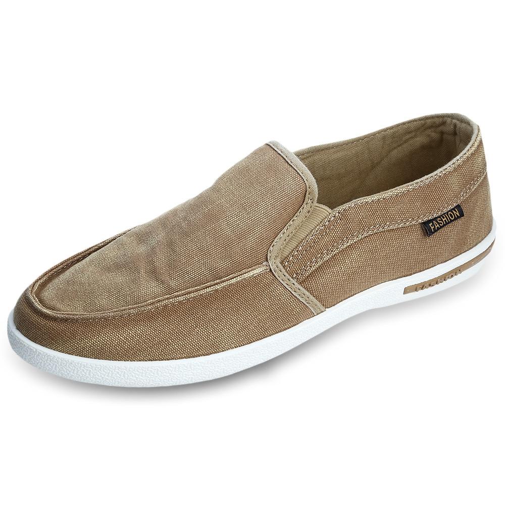 Mens Breathable Canvas Shoes