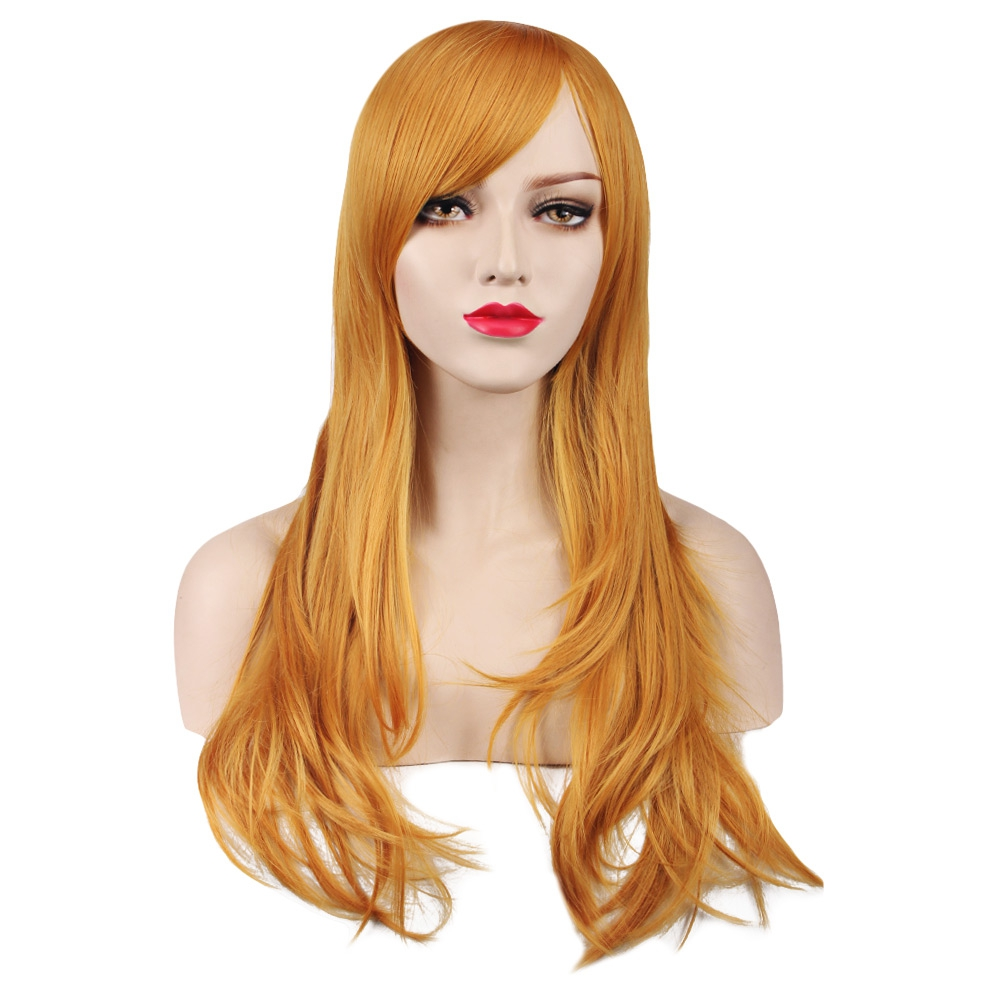 Synthetic hair wig cosplay