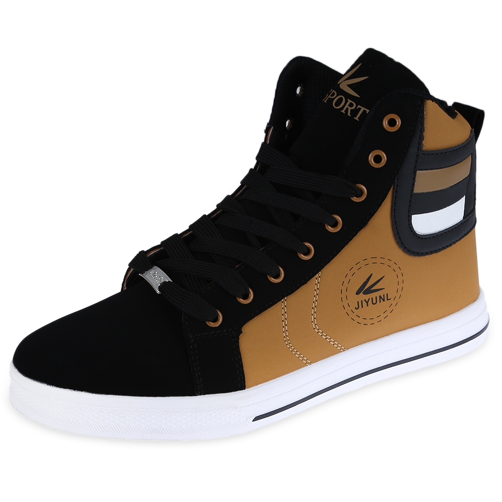 High Ankle Canvas Shoes For Men