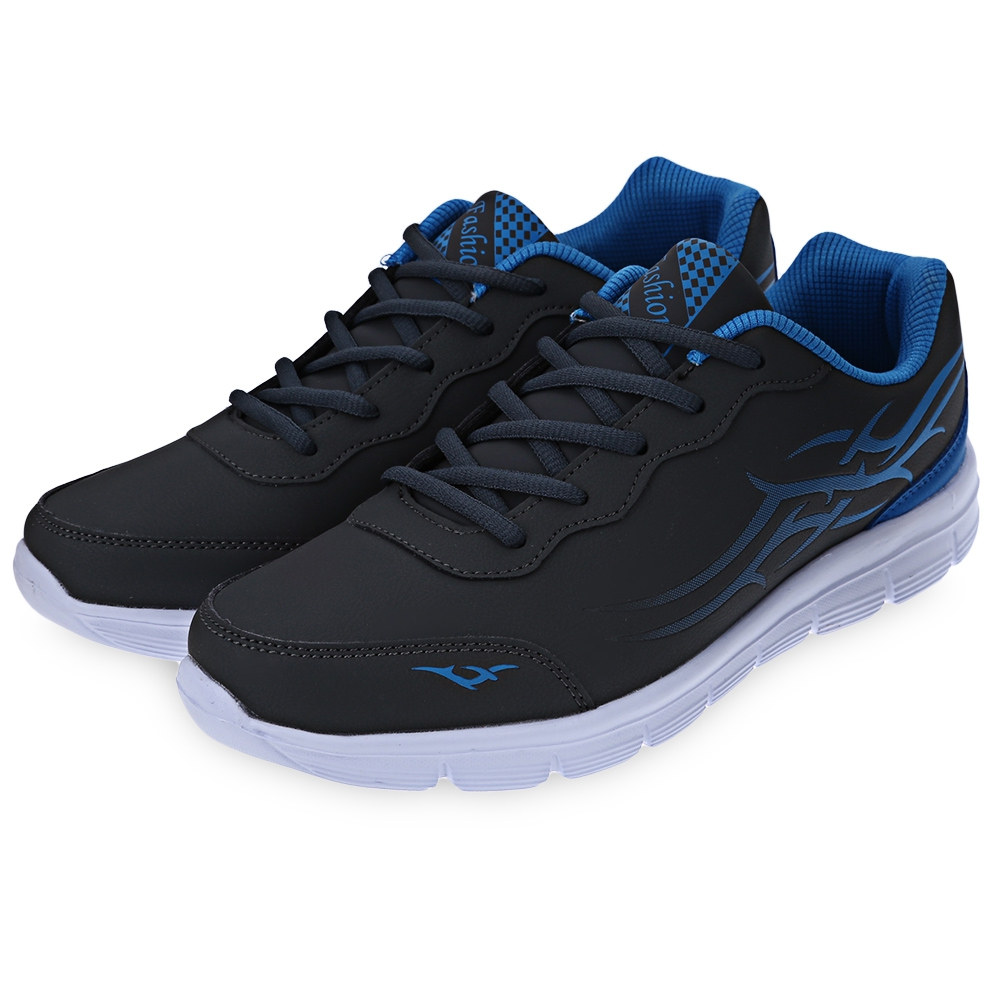 mens fashion sports lace up breathable casual sports