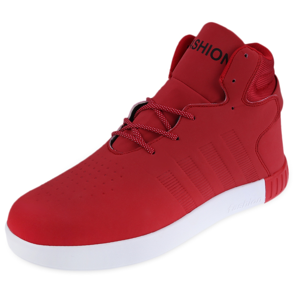 new fashion mens casual high top sport sneakers athletic