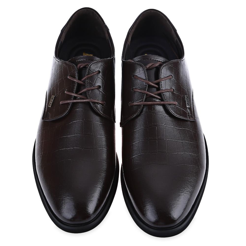business dress formal leather shoe flat oxford loafer