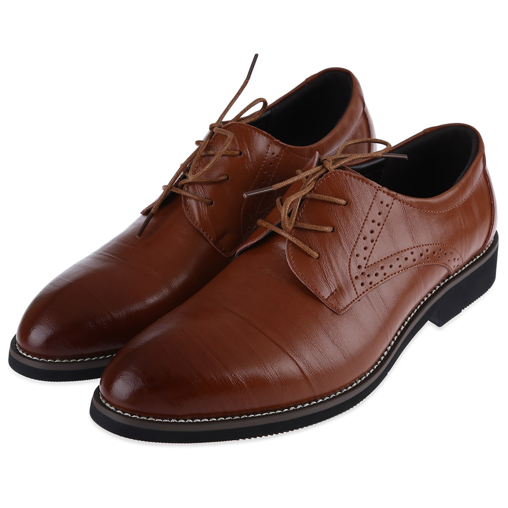 comfort mens dress shoes formal lace up oxfords classic