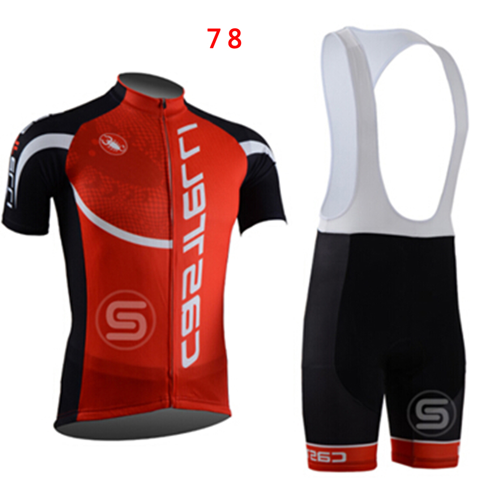 Sports Mens Cycling Clothing Bike Short Sleeve Jersey + Bib Shorts Suit | eBay