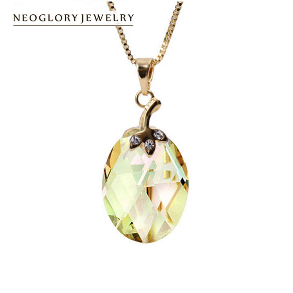 neoglory swarovski elements crystal necklaces wholesale