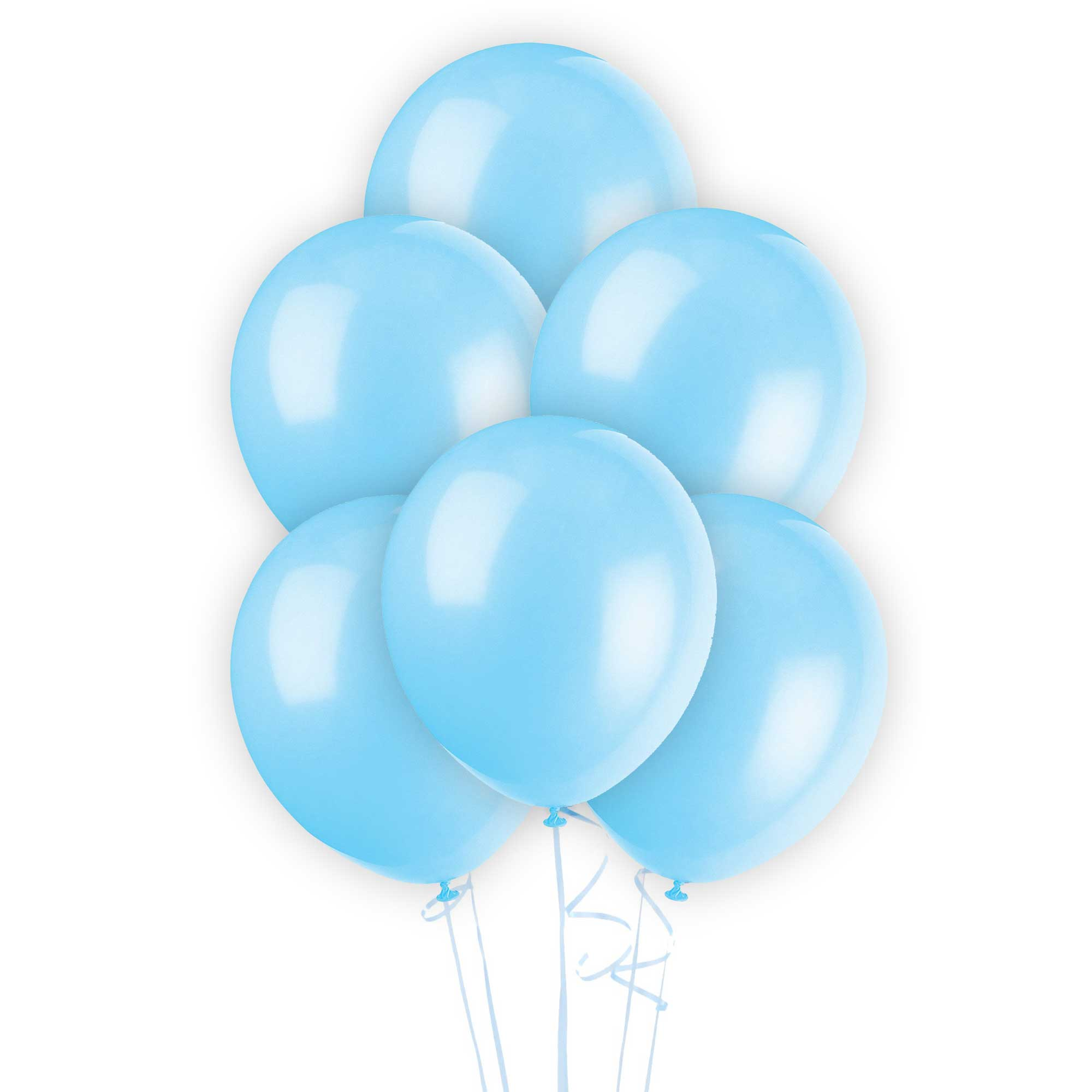 12 light blue latex balloons party decorations wedding anniversary
