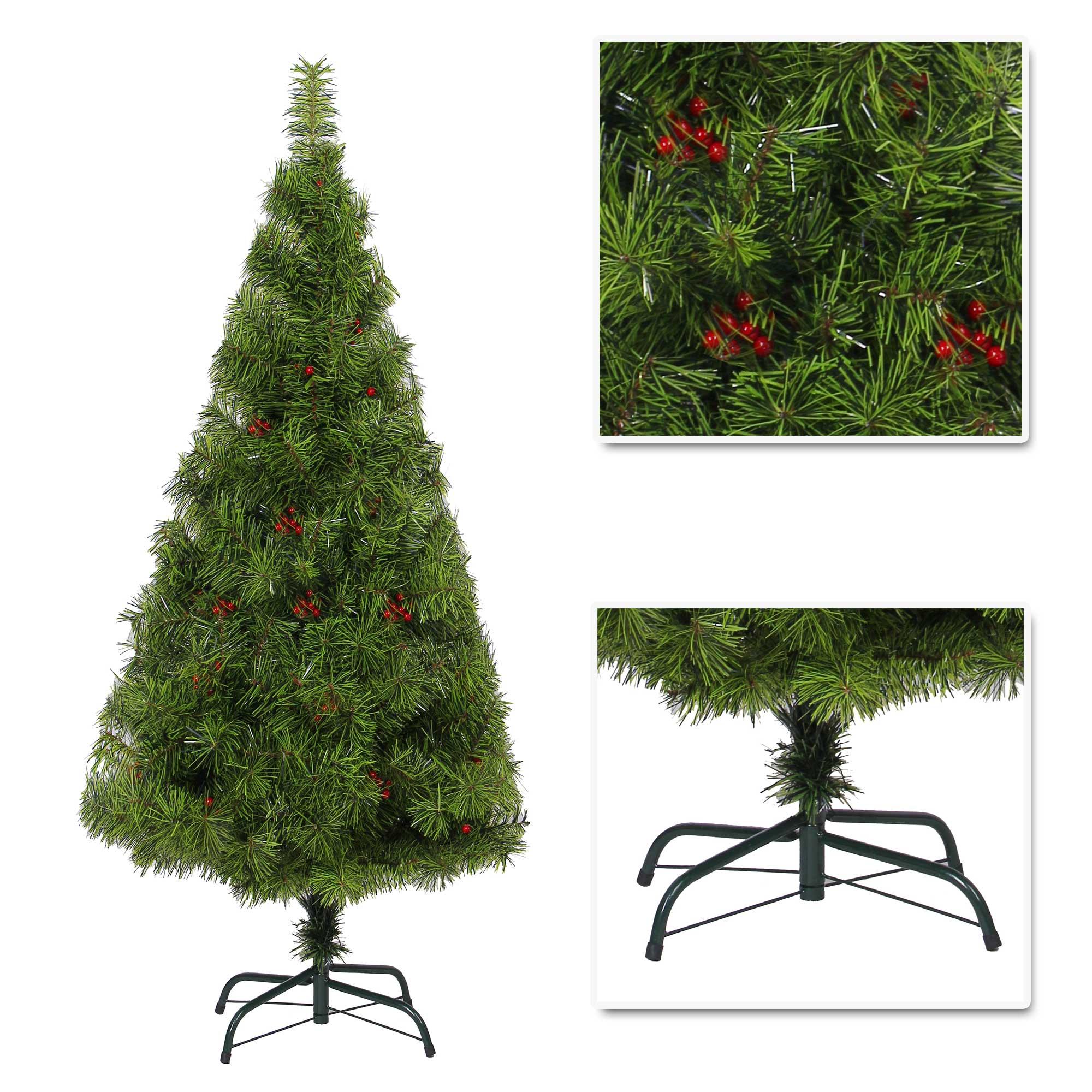Elegant artificial christmas tree boulder pine with berry - Arbol navidad elegante ...