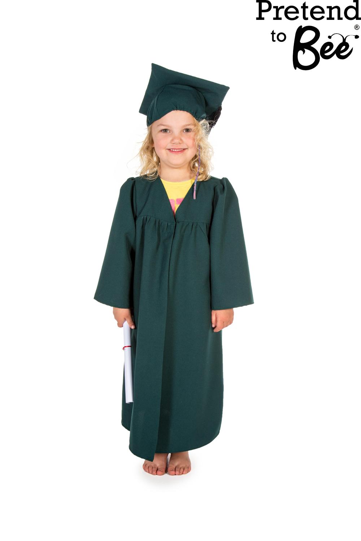 Bambini bimbi ragazzi ragazze Laurea Abito Mantello u0026 Cappello Costume | eBay