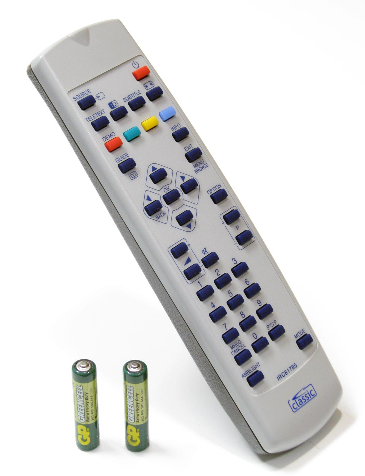 Replacement remote control for philips ykf230 002 ebay for Philips telecomando