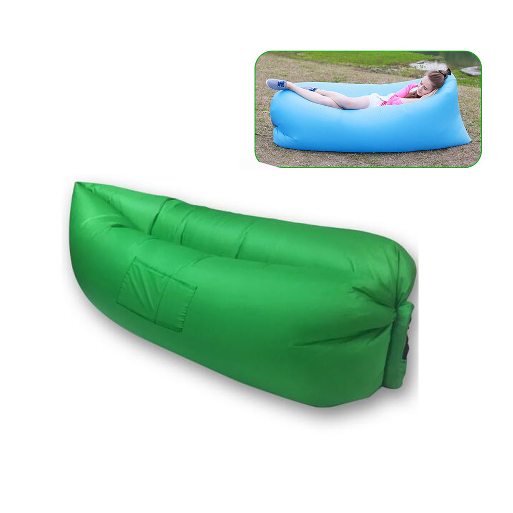 Air Sleeping Bag : Fast inflatable air lazy sleeping bag cm camouflage