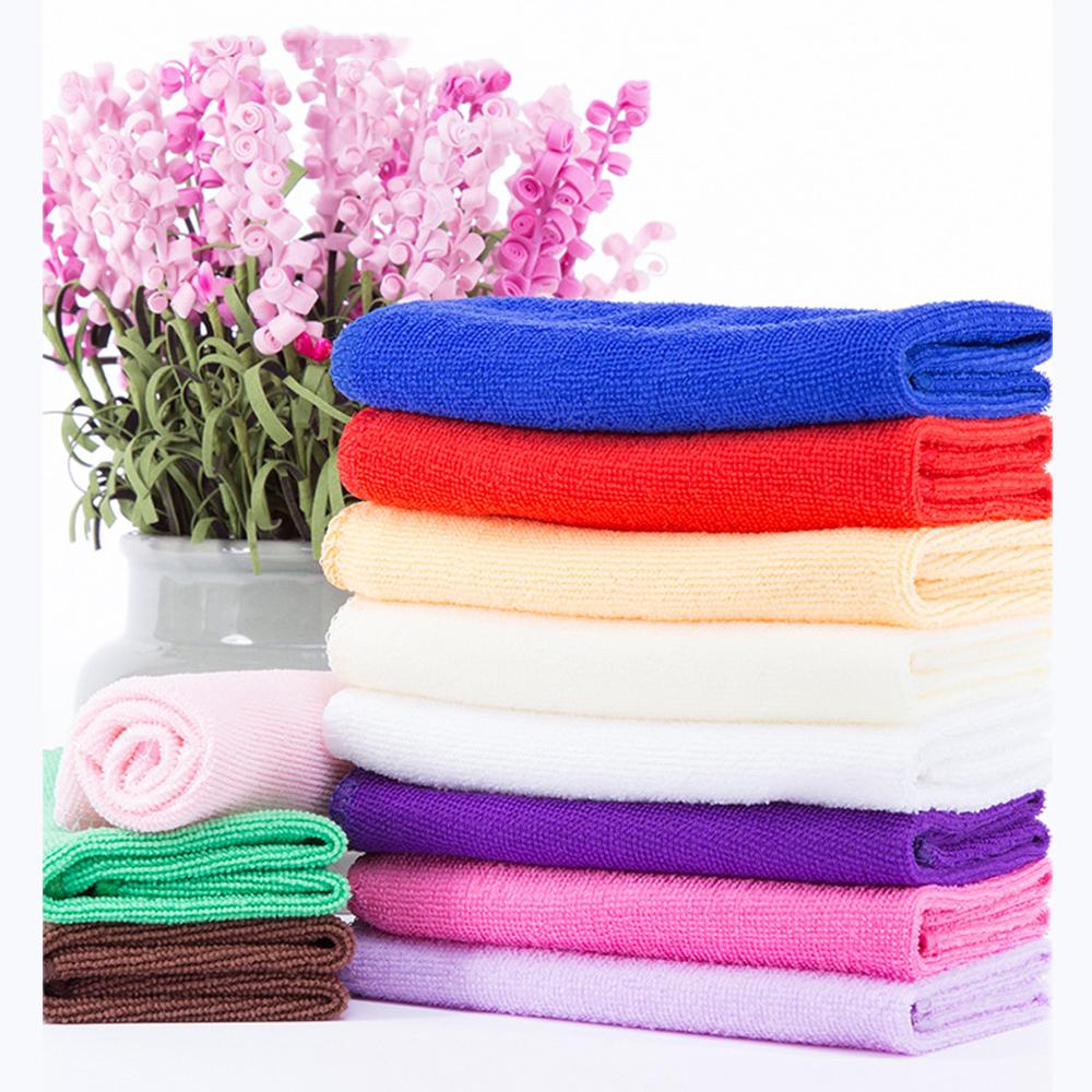Zip Soft Microfiber Towel: 1/3/6/9/12/24/48Pcs/set Microfiber Cleaning Towels Cloth 7