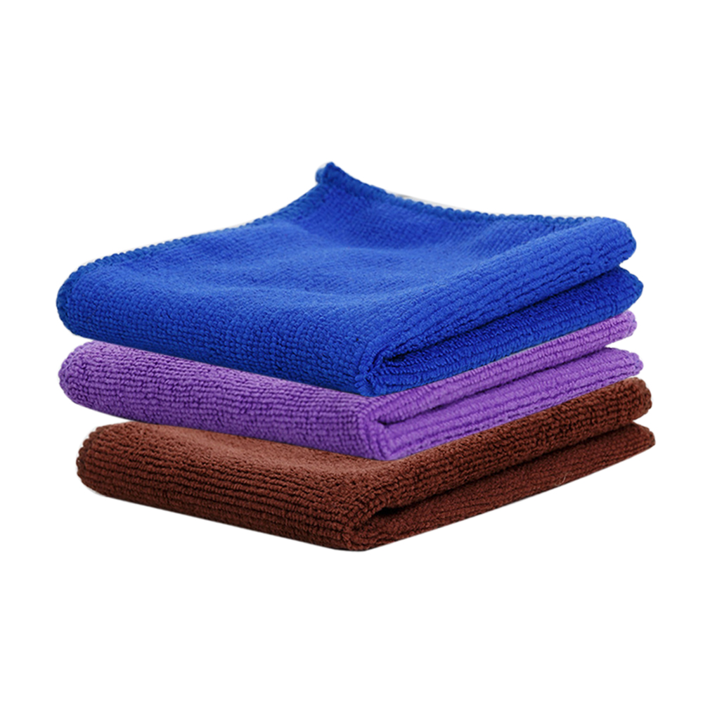 Zip Soft Microfiber Towel: 1/3/6/9/12/24/48Pcs/set Microfiber Cleaning Towels Cloth 7