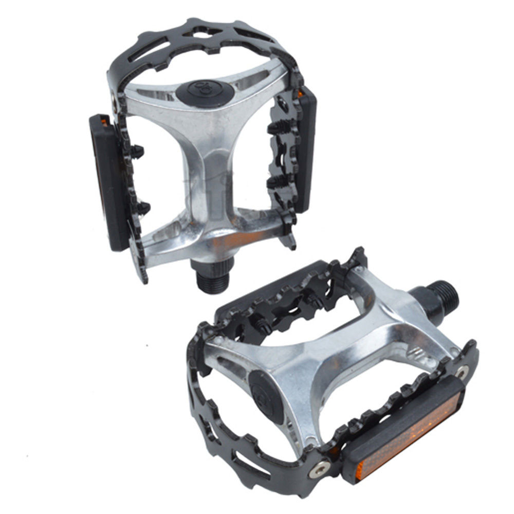 Bike Light Parts : Ultra light mtb bmx bike cycling alloy ball bearing padals