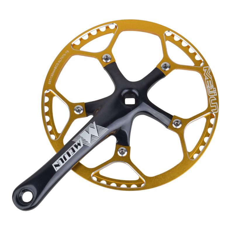 45t 47t 53t Crank Set Cnc Aluminum Folding Road Bike Chainset