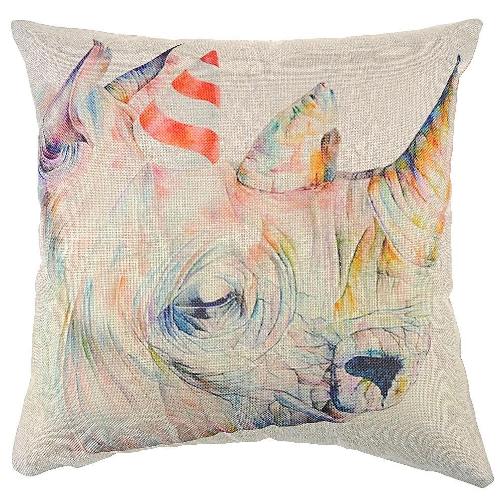 """18"""" Linen Cotton Fashion Throw Pillow Case Cushion Cover Home Sofa Decor New"""