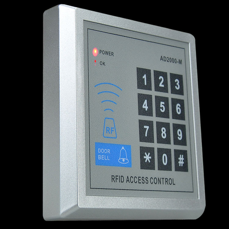 Security home rfid door proximity lock entry access for Door entry fobs
