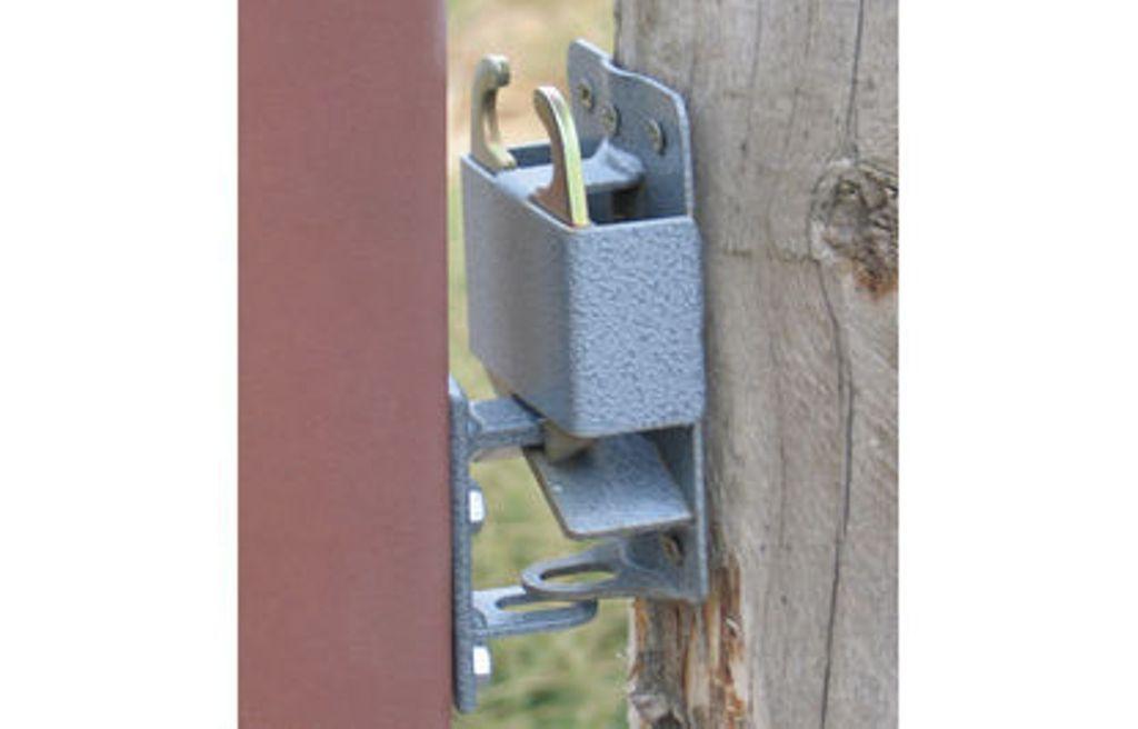 Farm Amp Ranch Gate Latch : Gate latch system kit heavy duty quick catch feedlot