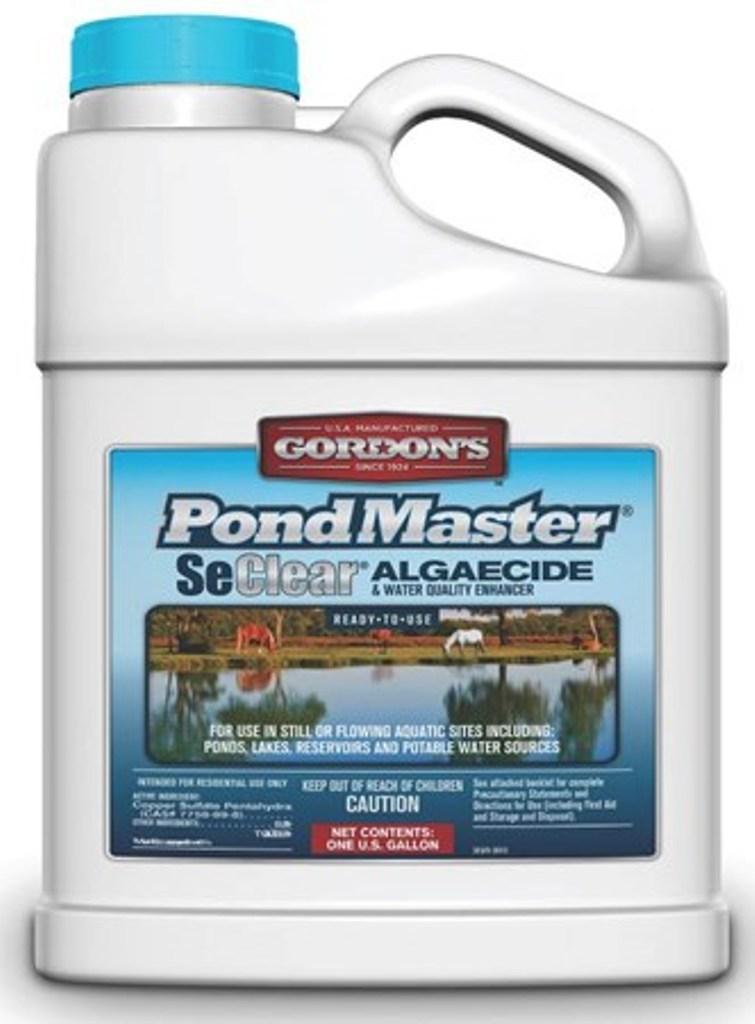 Pond Master Aquatic Algaecide 1 Gallon Farm Pond Livestock Stocked Fish Algae Ebay