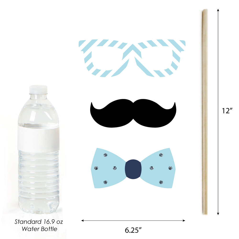 ... Little-One-Blue-and-Silver-Boy-Baby-Shower-Photo-Booth-Props-Kit-20-ct
