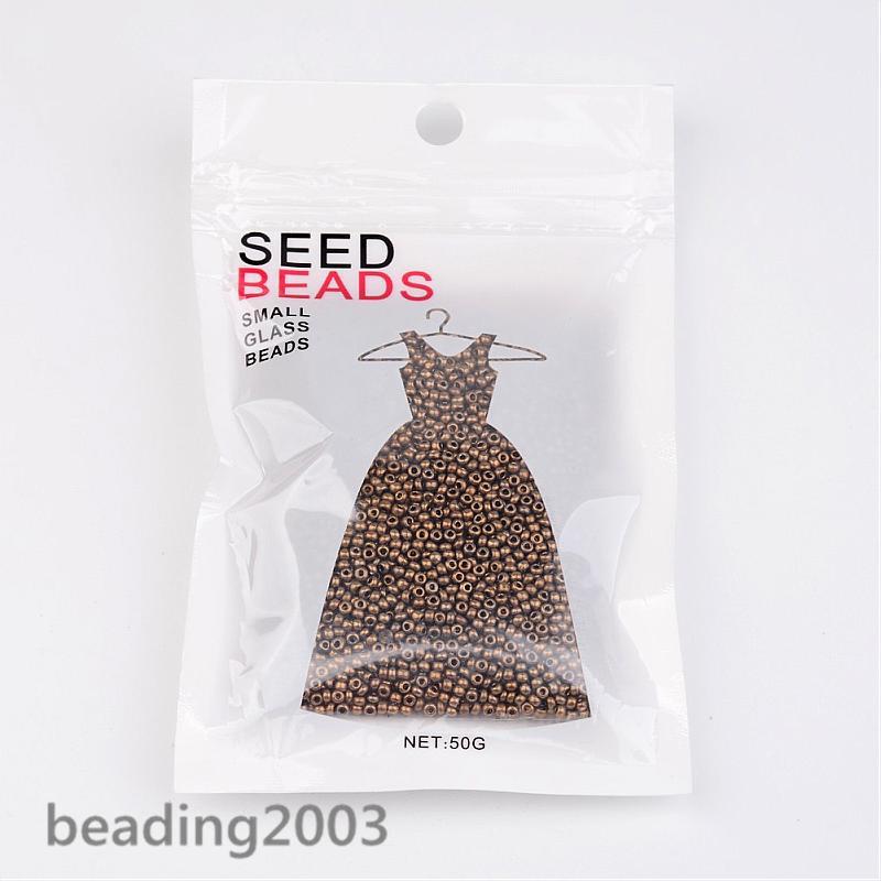 50g-11-0-Round-Glass-Seed-Beads-2x1-5mm-about-3000-3300pcs-Jewellery-Making thumbnail 27
