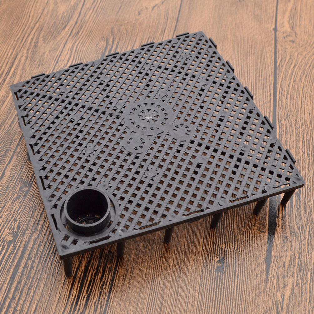 Filter plate aquarium fish tank bottom undergravel for Fish tank bottom filter