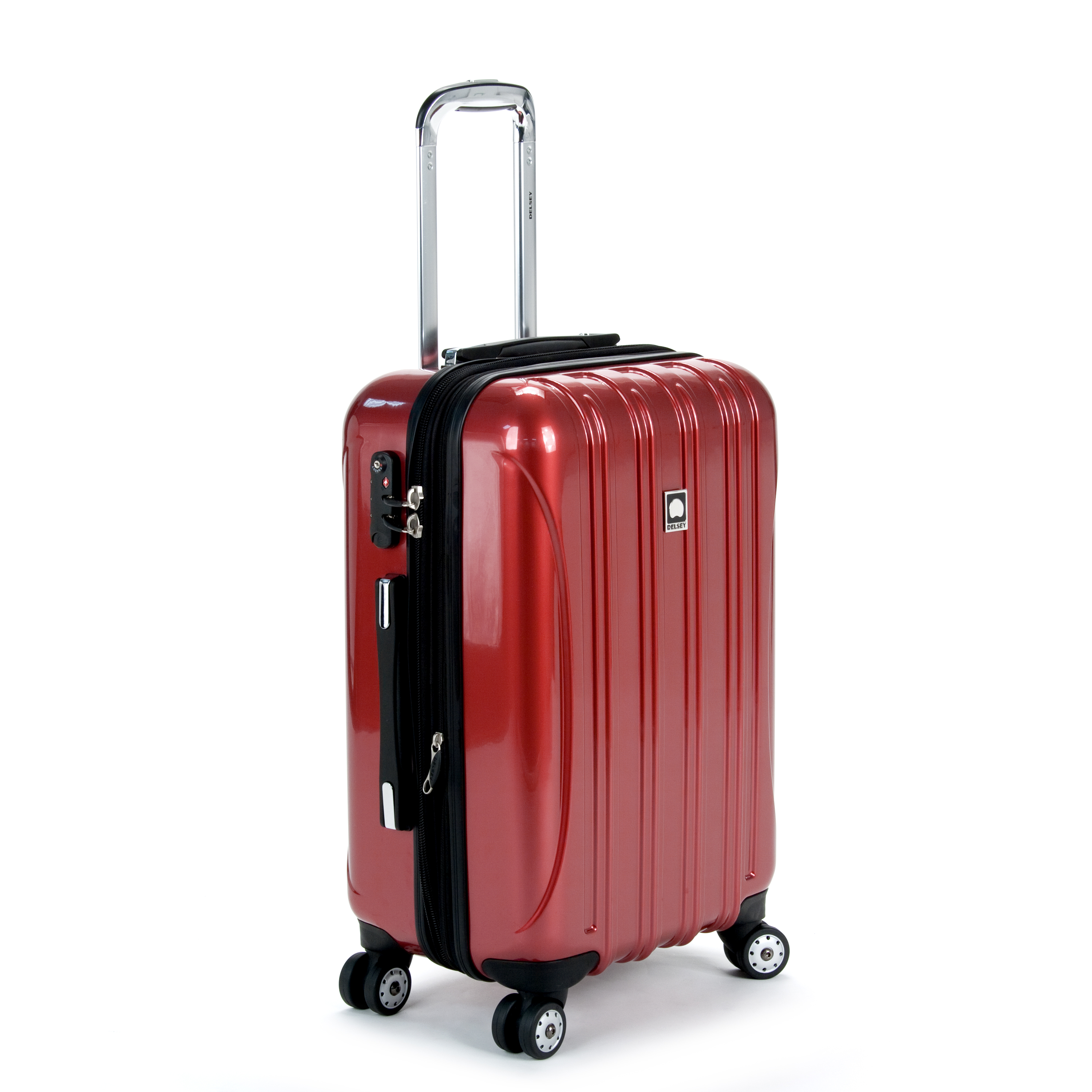 delsey luggage helium aero 2 piece spinner luggage set 21 and 29 ebay. Black Bedroom Furniture Sets. Home Design Ideas