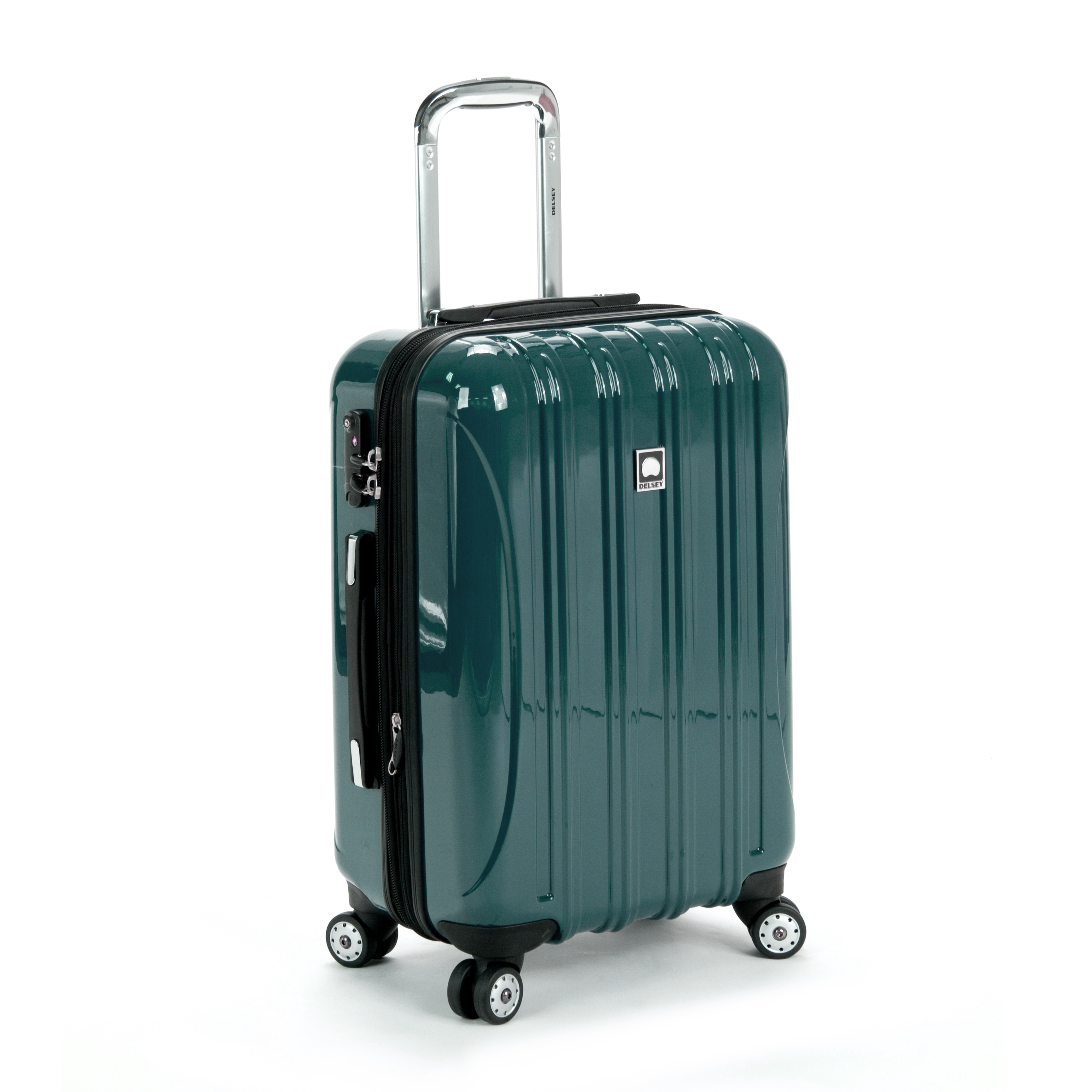 delsey luggage helium aero 2 piece spinner luggage set 21 and 25 ebay. Black Bedroom Furniture Sets. Home Design Ideas