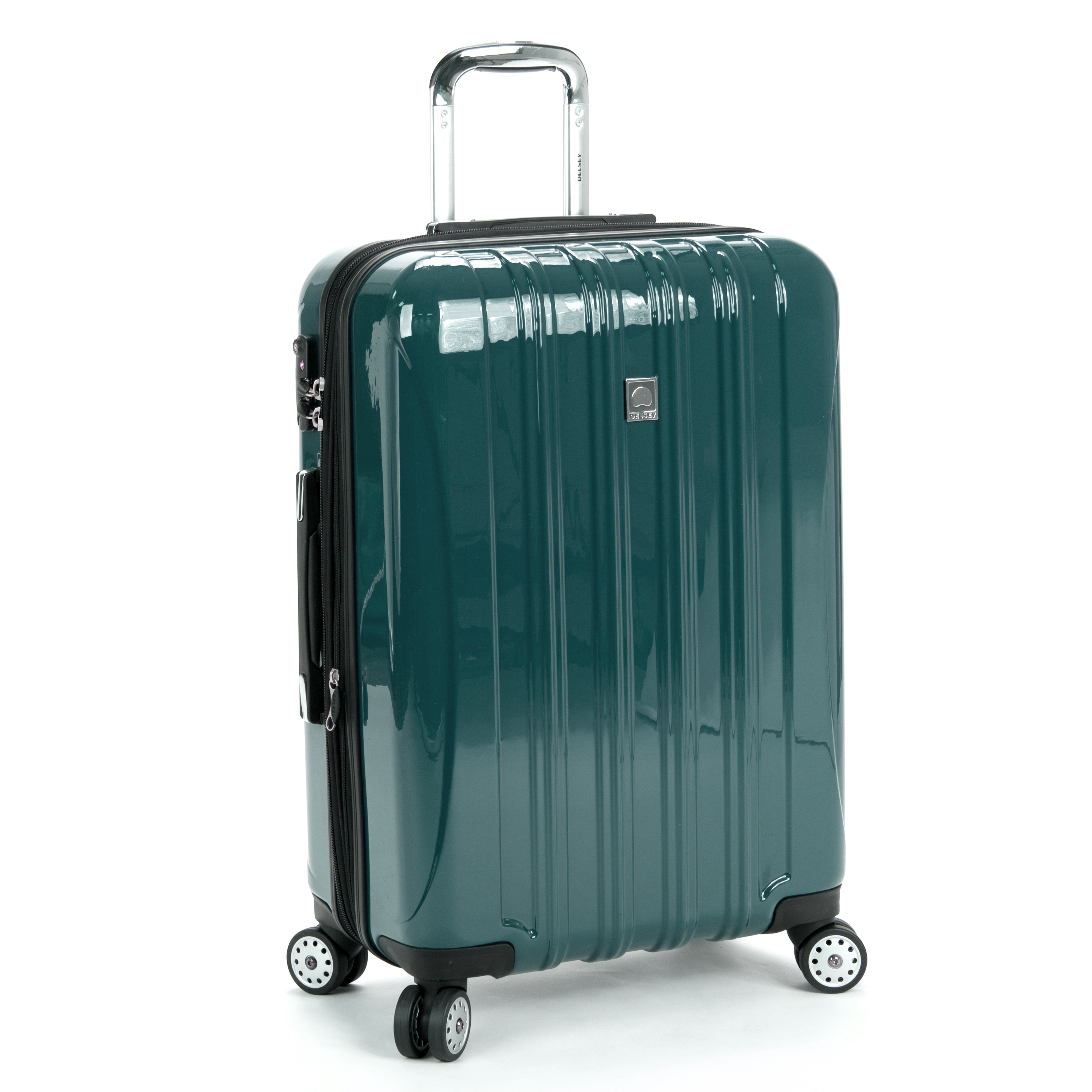 delsey luggage helium aero expandable spinner trolley 25 ebay. Black Bedroom Furniture Sets. Home Design Ideas