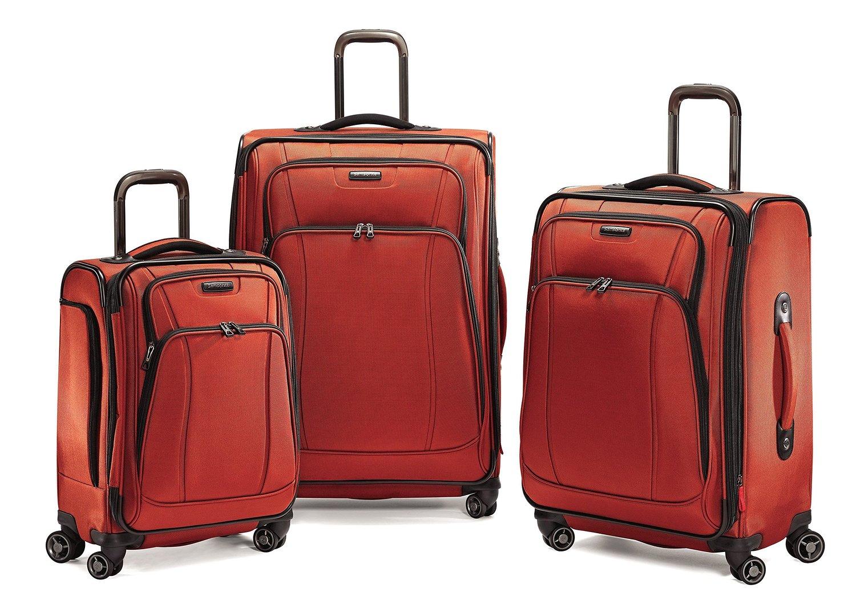 samsonite luggage dk3 3 piece spinner luggage set. Black Bedroom Furniture Sets. Home Design Ideas