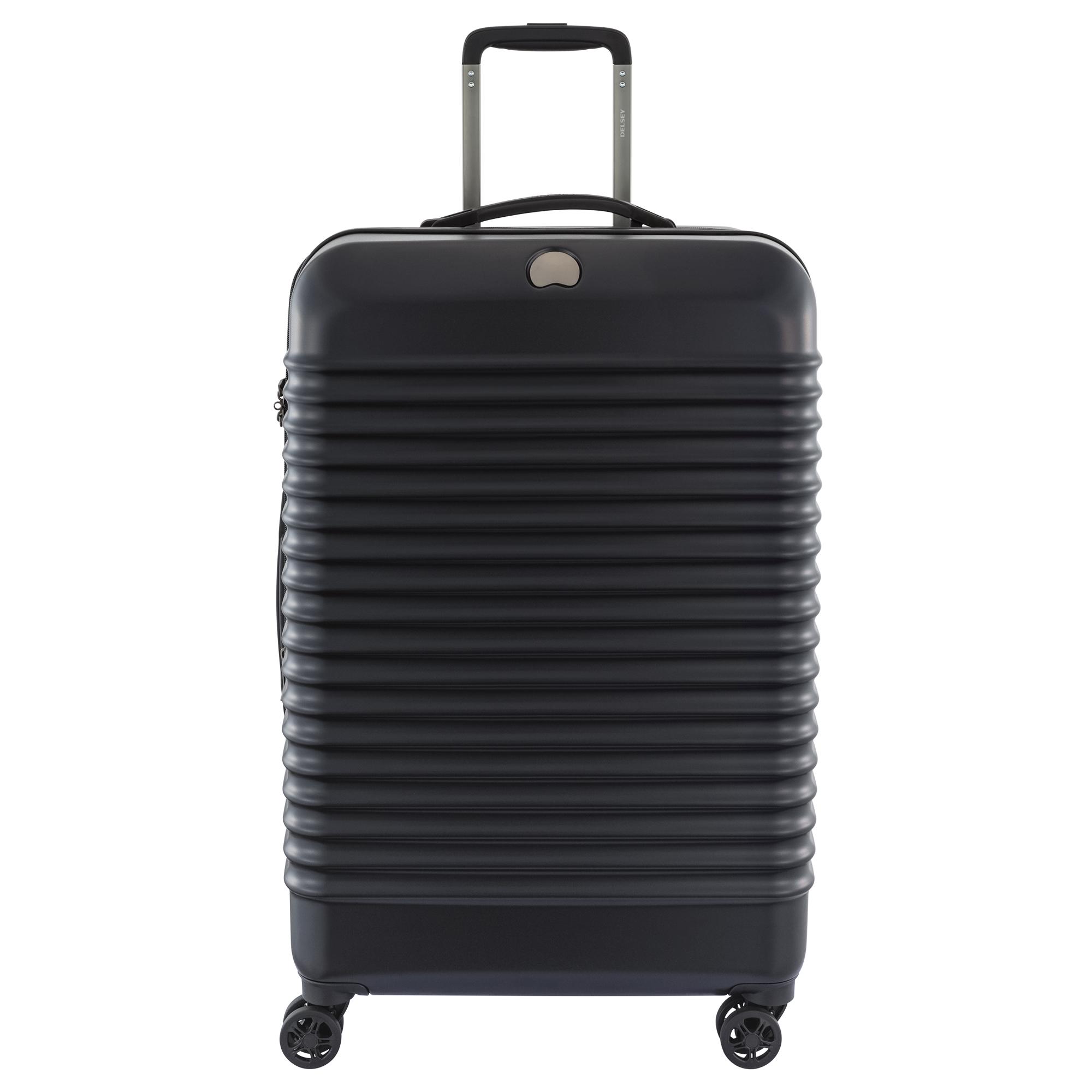 delsey paris bastille lite 3 piece expandable spinner trolley luggage set. Black Bedroom Furniture Sets. Home Design Ideas