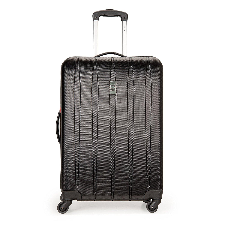 delsey luggage volume dlx hardside 3 piece nested spinner luggage set ebay. Black Bedroom Furniture Sets. Home Design Ideas