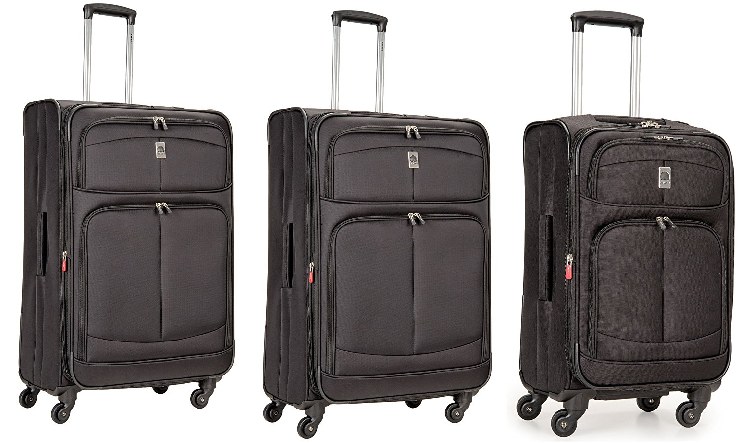 delsey luggage agility softside 3 piece nested spinner luggage set martlocal. Black Bedroom Furniture Sets. Home Design Ideas