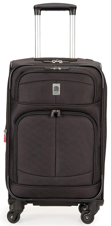 delsey luggage agility softside 3 piece nested spinner luggage set ebay. Black Bedroom Furniture Sets. Home Design Ideas