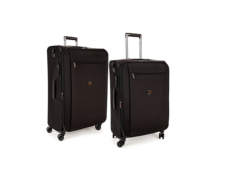 delsey luggage montmartre set of 21 inch and 29 inch ebay. Black Bedroom Furniture Sets. Home Design Ideas