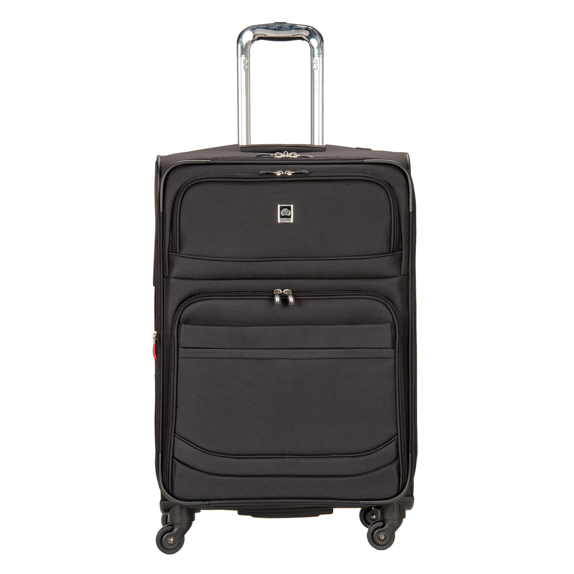 delsey luggage d lite 3 piece expandable nested spinner luggage set ebay. Black Bedroom Furniture Sets. Home Design Ideas