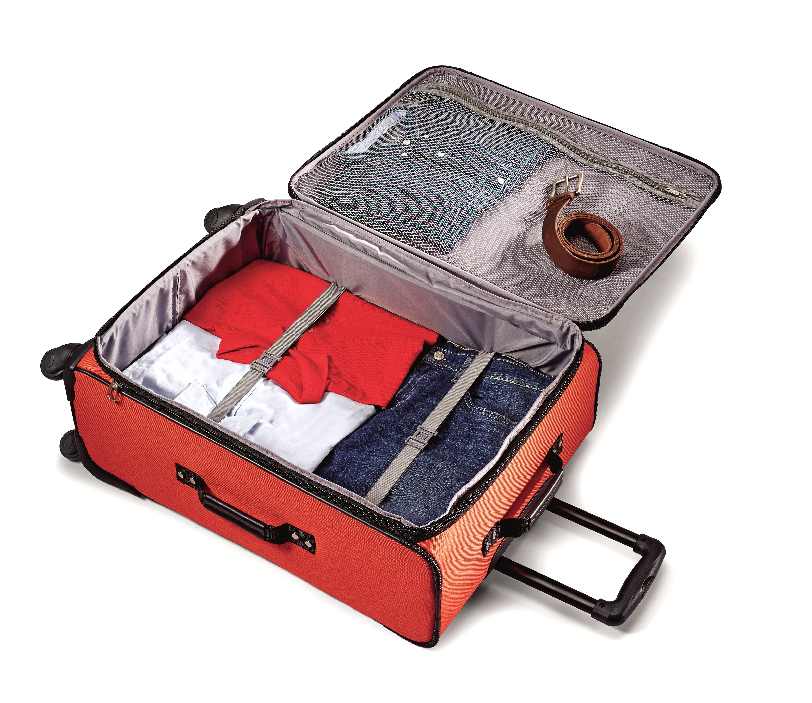 American tourister luggage at pop three piece spinner set review