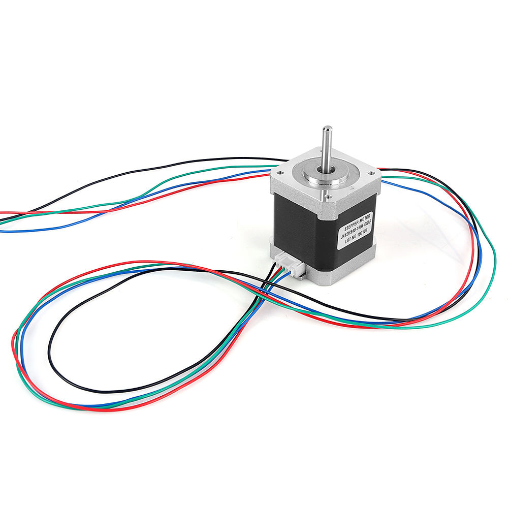 how to connect 5 wire stepper motor to arduino