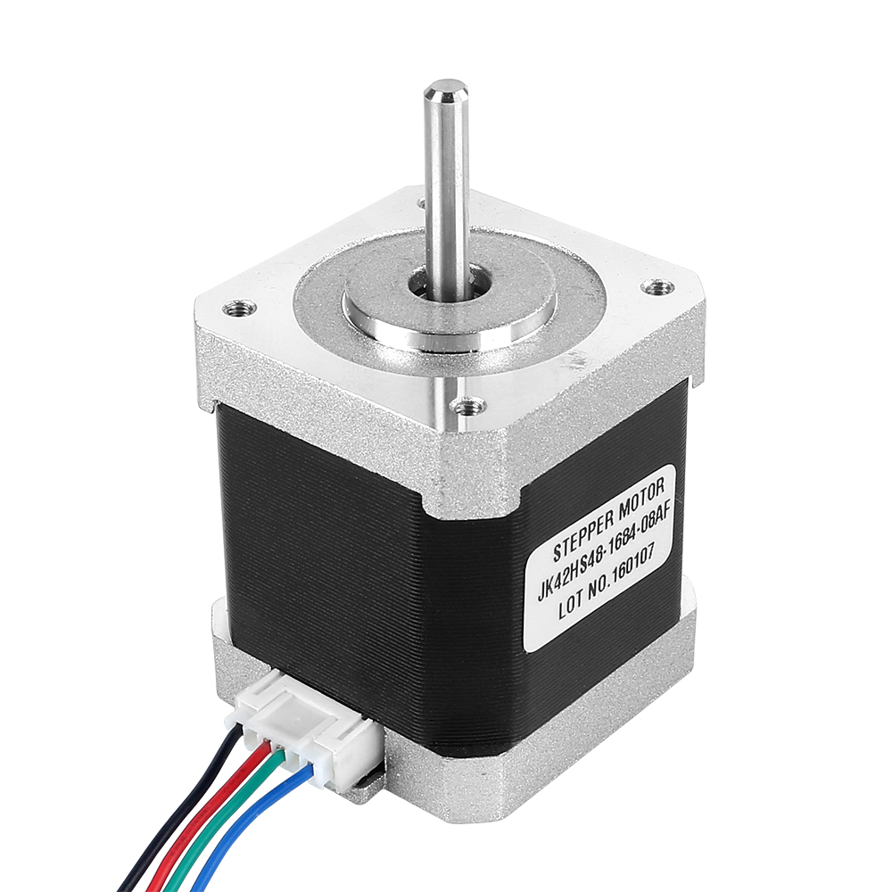 Free Ship Jk42hs48 1684 Nema 17 Stepper Motor 45ncm 4 Wire