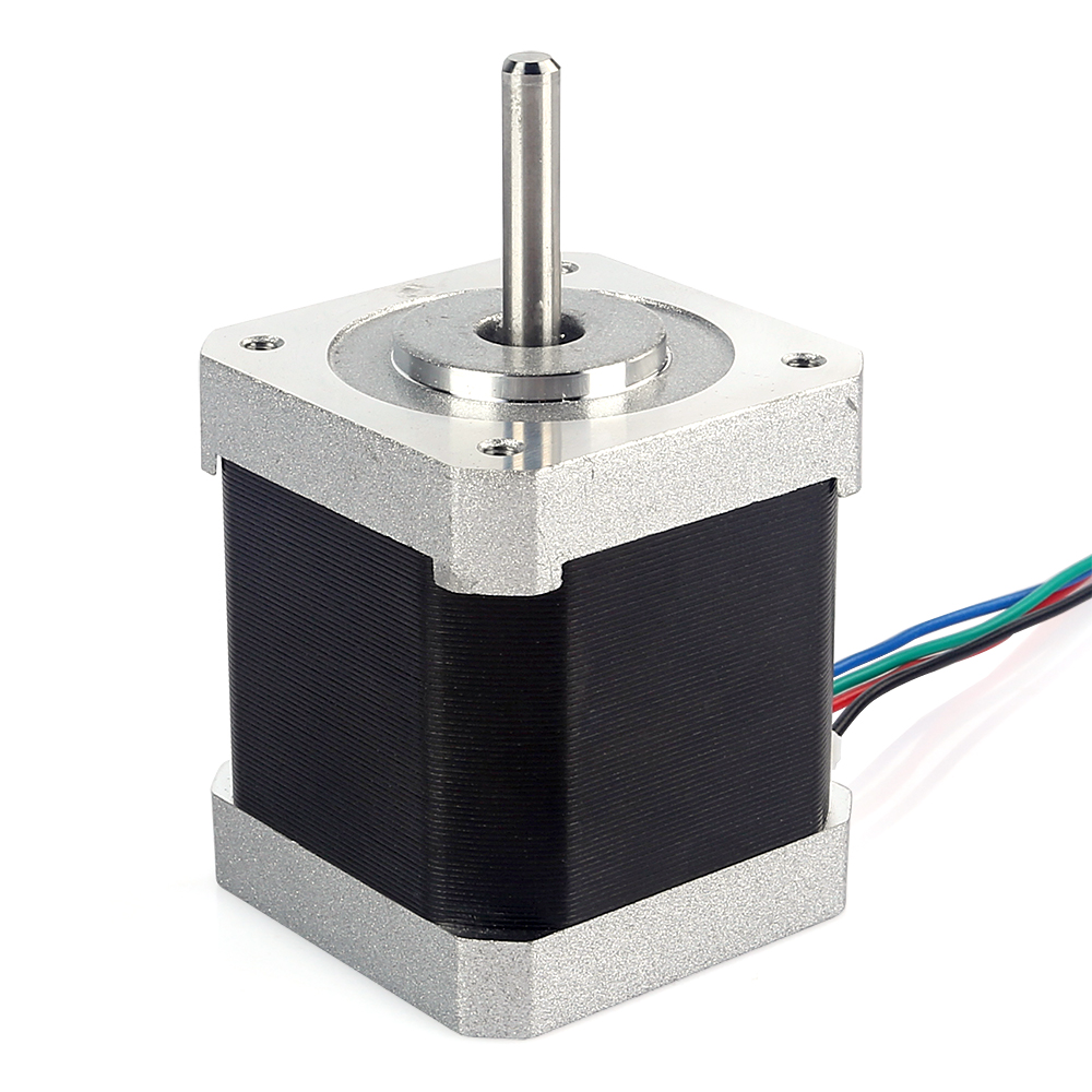 Free ship jk42hs48 1684 nema 17 stepper motor 45ncm 4 wire for Nema design b motor