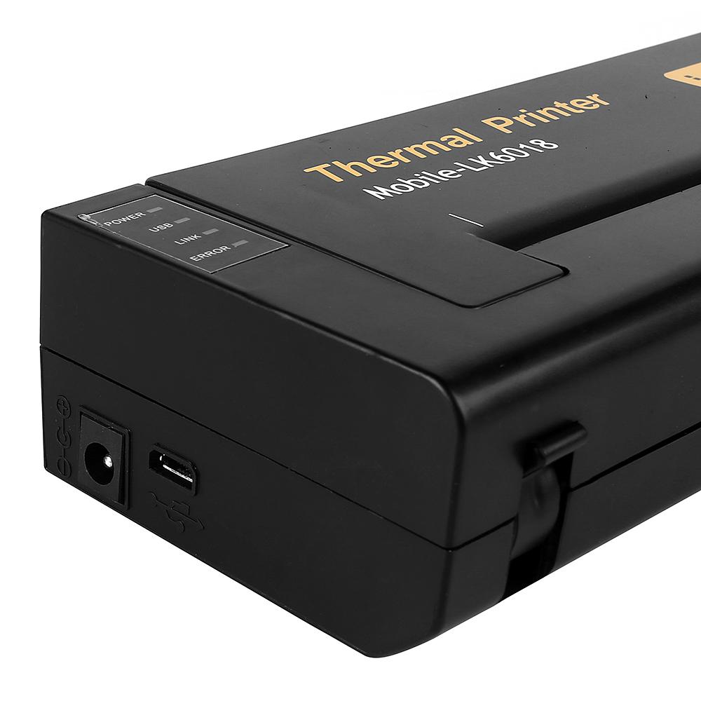 Portable tattoo transfer stencil machine thermal printer for Tattoo stencil copier